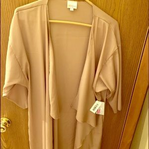 LuLaRoe long tan cover